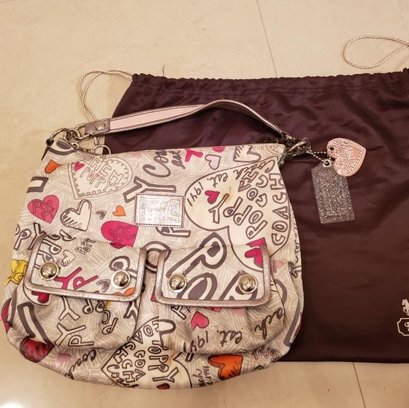 Coach Handbags - Poppy Hobo Bag